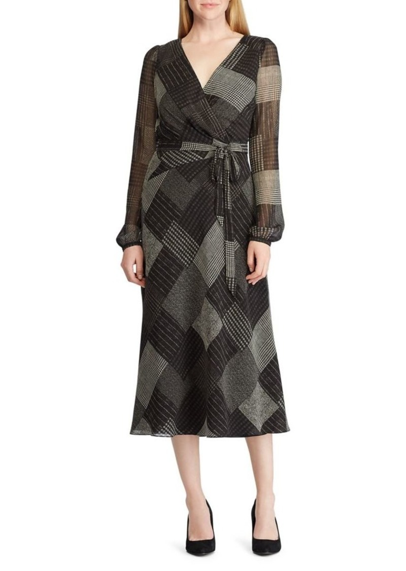 Lauren Ralph Lauren Print Georgette Dress