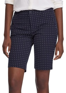 Lauren Ralph Lauren Printed Cotton-Blend Bermuda Shorts