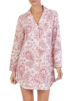 Lauren Ralph Lauren Printed Cotton Sleepshirt