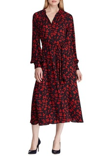 Lauren Ralph Lauren Printed Georgette Dress