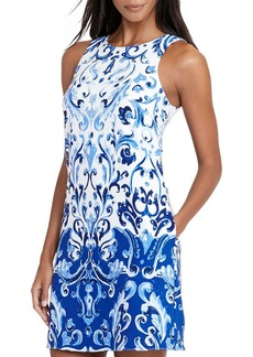 Lauren Ralph Lauren Printed Shift Dress