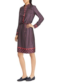 Lauren Ralph Lauren Printed Twill Shirt Dress