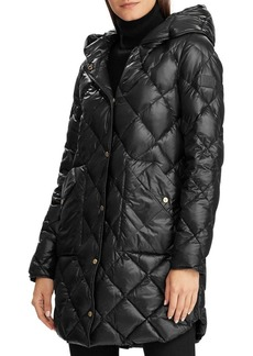 Lauren Ralph Lauren Quilted Down-Filled Hooded Jacket