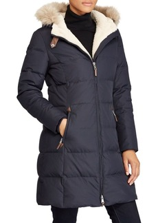 Lauren Ralph Lauren Quilted Faux Fur Jacket