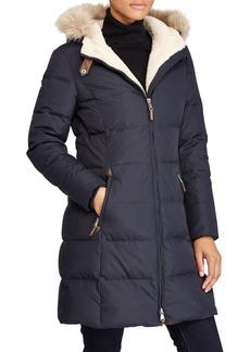Lauren Ralph Lauren Quilted Faux Fur Jacket