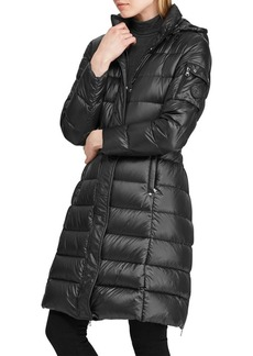 Lauren Ralph Lauren Quilted Hooded Down Jacket