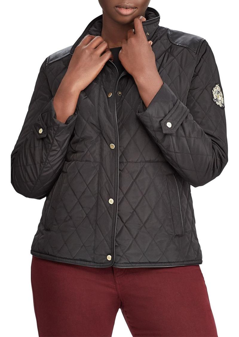 Ralph Lauren Lauren Ralph Lauren Quilted Jacket Plus Size Outerwear