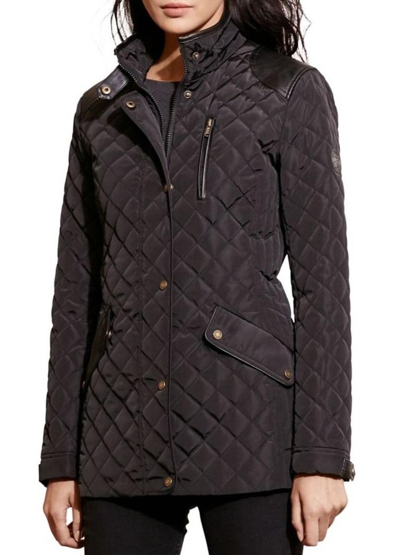 Ralph Lauren Lauren Ralph Lauren Quilted Mockneck Jacket Outerwear