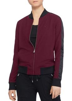 Lauren Ralph Lauren Racing Stripe Bomber Jacket