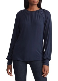 Lauren Ralph Lauren Raglan-Sleeve Stretch Top