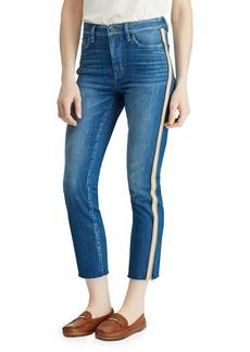 Lauren Ralph Lauren Regal Straight Ankle Jeans in Eden Wash