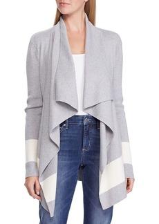 Lauren Ralph Lauren Relaxed-Fit Colorblock Cotton-Blend Cardigan