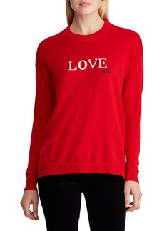 Lauren Ralph Lauren Relaxed-Fit Love Cotton-Blend Sweater
