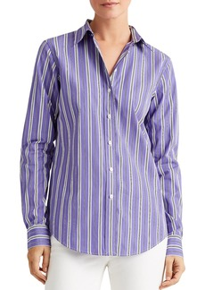 Lauren Ralph Lauren Relaxed Fit Striped Shirt