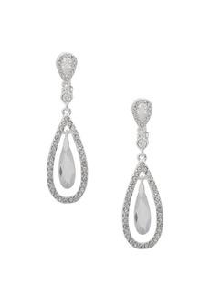 Lauren Ralph Lauren Rhinestone Orbital Drop Earrings