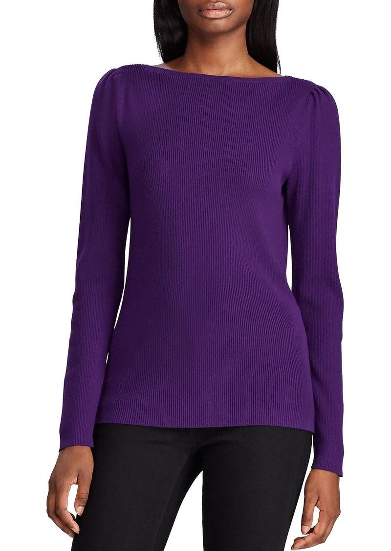 Lauren Ralph Lauren Ribbed Boat-Neck Sweater