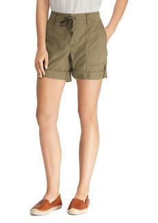 Lauren Ralph Lauren Roll-Up Drawstring Shorts