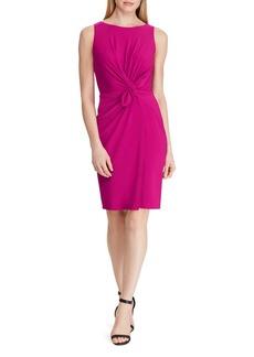 Lauren Ralph Lauren Twist-Front Jersey Dress