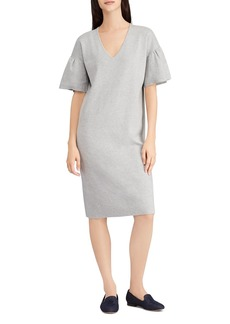 Lauren Ralph Lauren Ruffle-Sleeve Sweater Dress