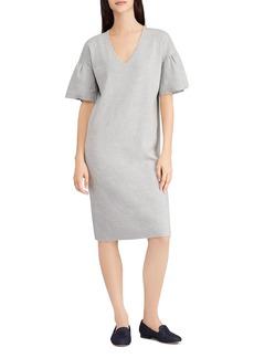 Lauren Ralph Lauren Ruffle-Sleeve Sweater Dress