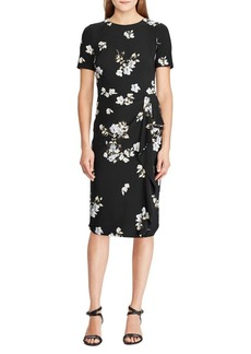 Lauren Ralph Lauren Ruffle-Trim Floral Dress