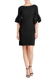 Lauren Ralph Lauren Ruffled Bell-Sleeve Dress