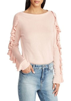 Lauren Ralph Lauren Ruffled-Sleeve Sweater