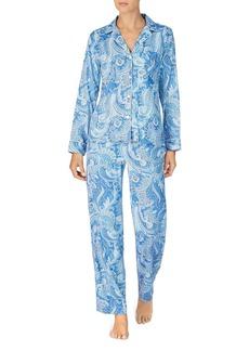 Lauren Ralph Lauren Sateen Pajama Set