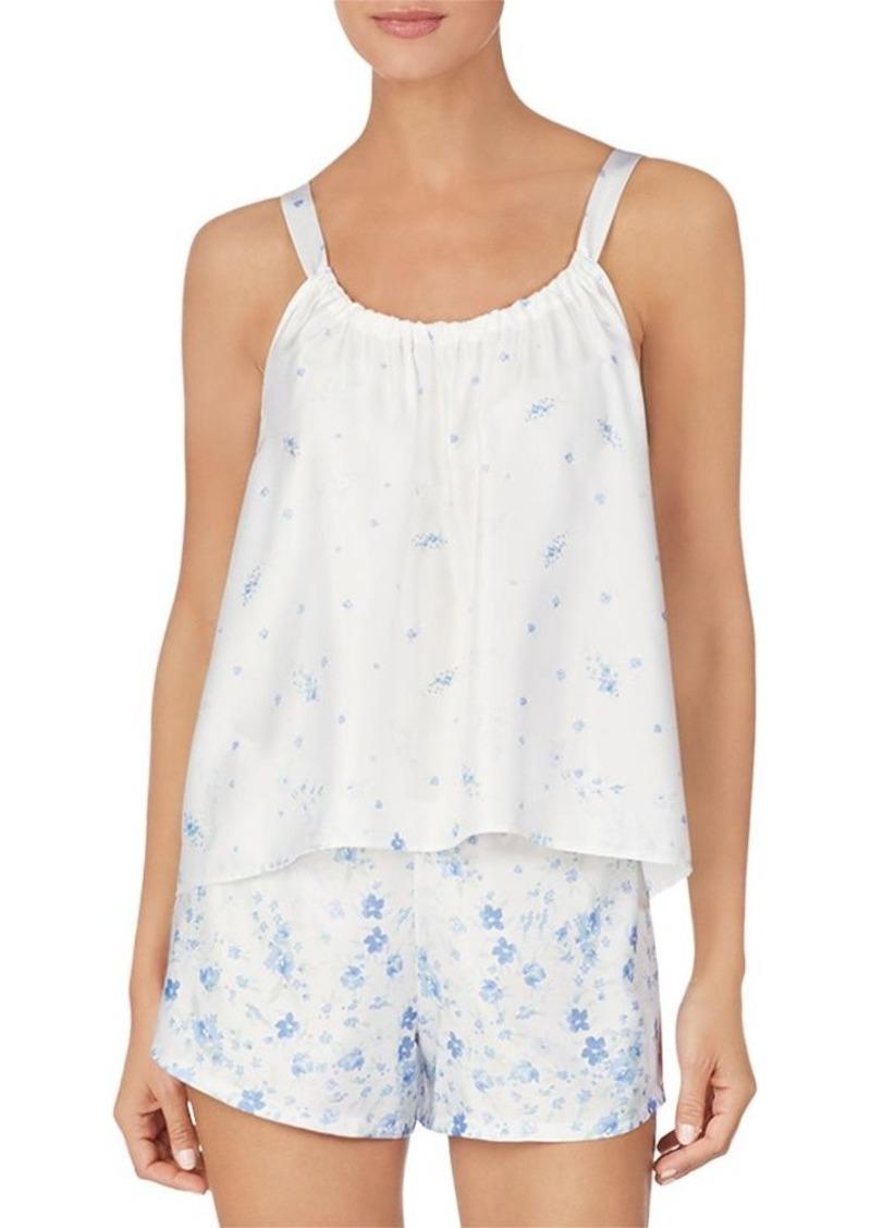 Lauren Ralph Lauren Satin Cami Pajama Set