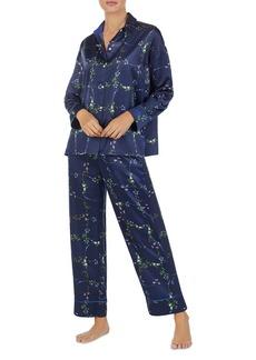 Lauren Ralph Lauren Satin Floral PJ Set