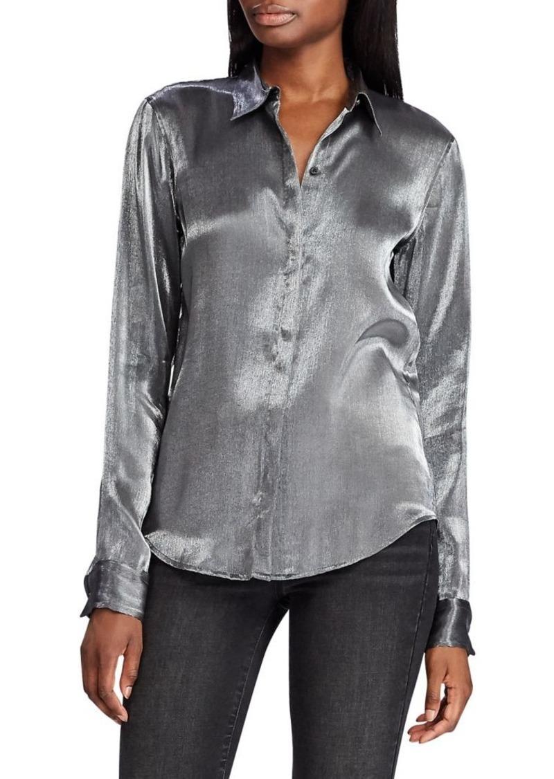 Lauren Ralph Lauren Satin Shirt