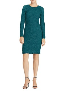 Lauren Ralph Lauren Scalloped Lace Dress