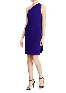 Lauren Ralph Lauren Scarf-Detail One-Shoulder Dress - 100% Exclusive