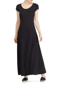 Lauren Ralph Lauren Scoop Neck Maxi Dress