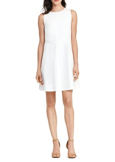 Lauren Ralph Lauren Seamed A-Line Dress