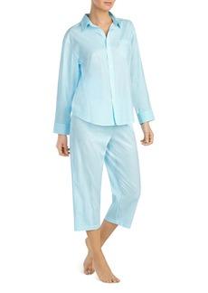 Lauren Ralph Lauren Seaside Classic Capri Pajama Set
