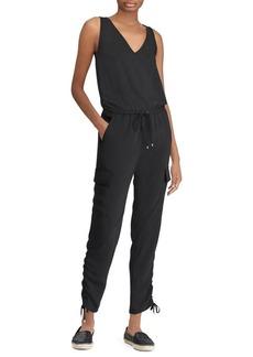 Lauren Ralph Lauren Self-Tie Crepe Jumpsuit