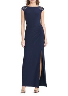 Lauren Ralph Lauren Sequin-Detail Gown