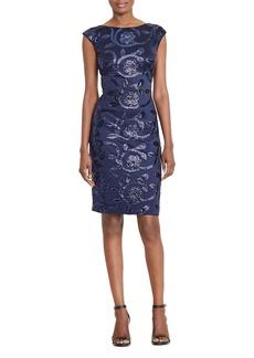 Lauren Ralph Lauren Sequin-Embellished Dress