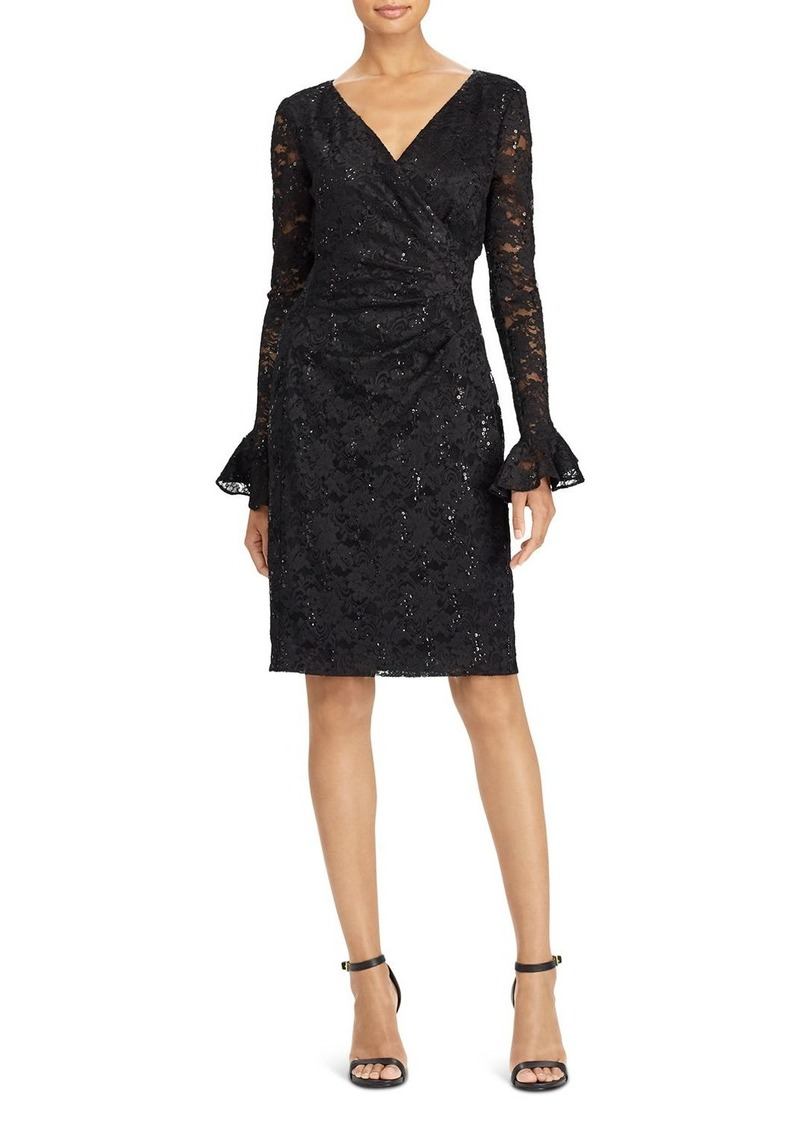 Lauren Ralph Lauren Sequin Lace Dress
