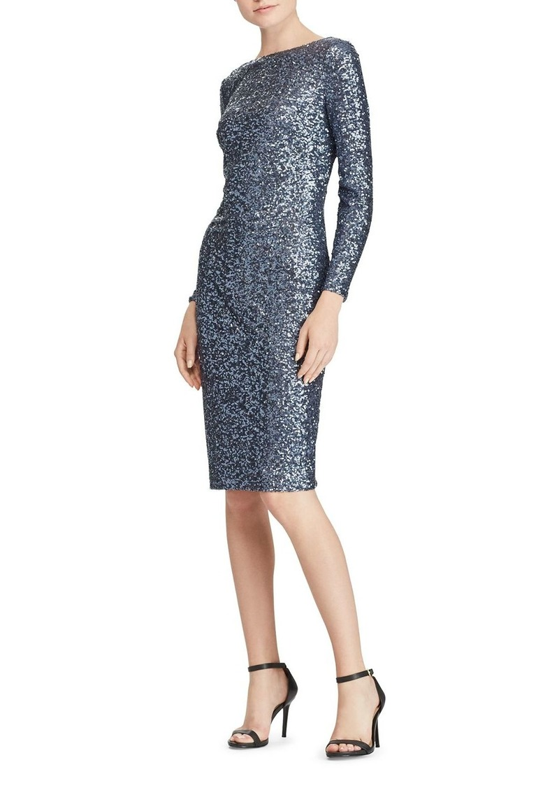 b0839dc4 Ralph Lauren Lauren Ralph Lauren Sequin Scoop-Back Dress | Dresses