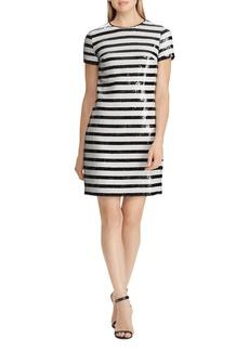 Lauren Ralph Lauren Sequin Stripe Dress