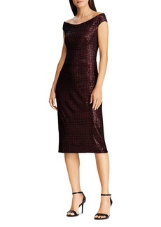 Lauren Ralph Lauren Sequined Chenille Dress
