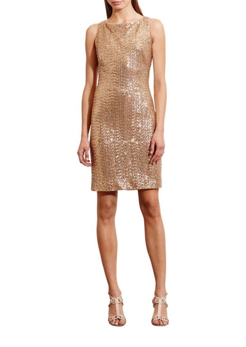 41bce4b3 Ralph Lauren Lauren Ralph Lauren Sequined Cutout Dress   Dresses