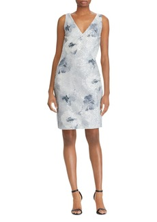 Lauren Ralph Lauren Sequined Floral-Print Dress