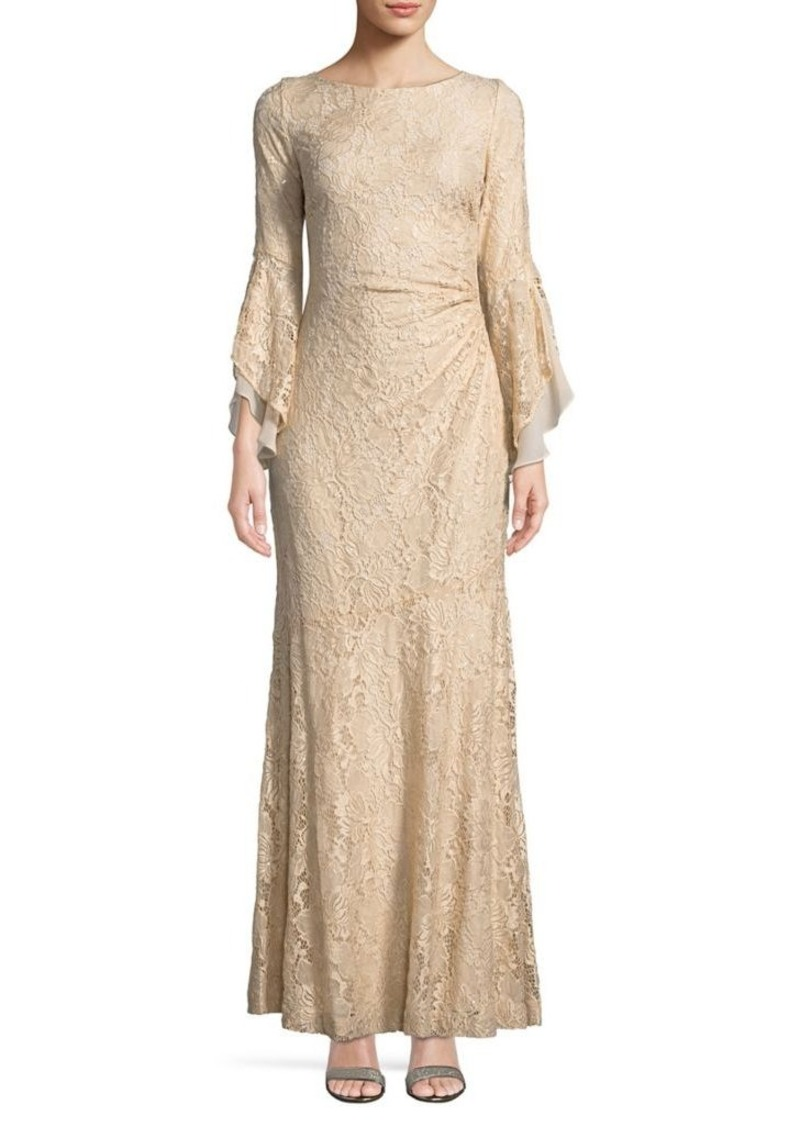 On Sale today! Ralph Lauren Lauren Ralph Lauren Sequined Lace Gown