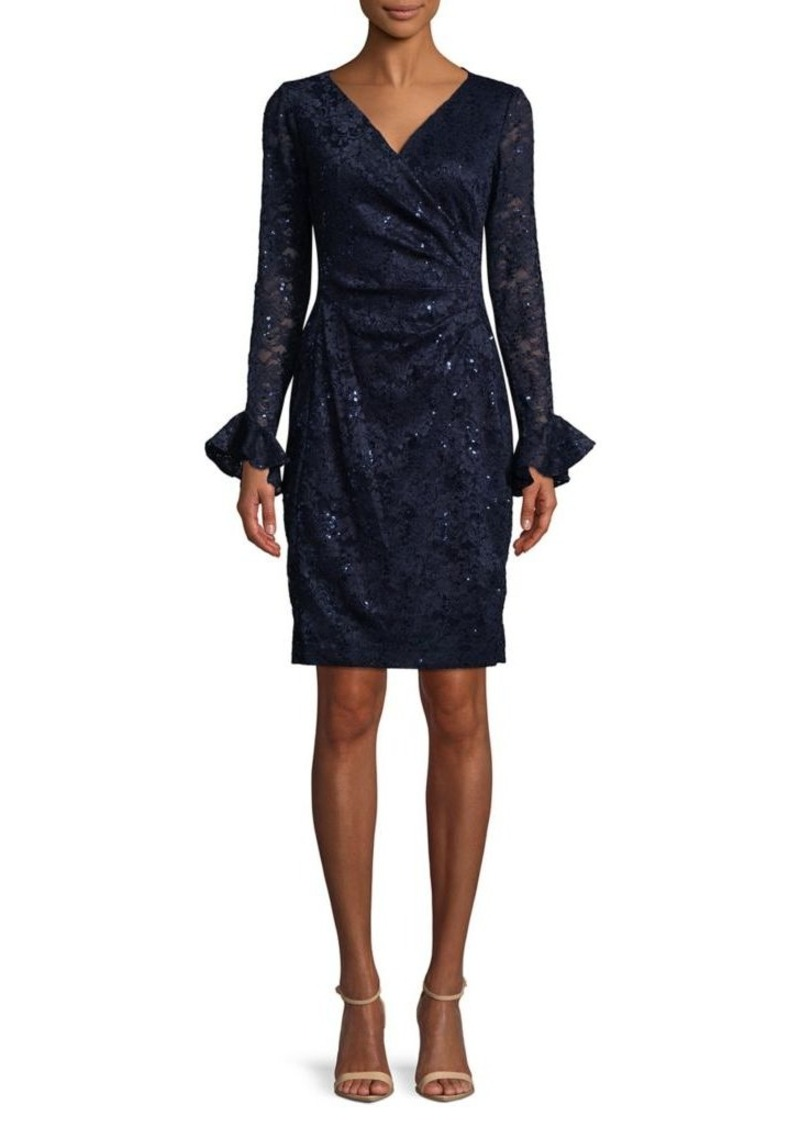 b43d5c65c2d2f Ralph Lauren Lauren Ralph Lauren Sequined Lace Sheath Dress | Dresses