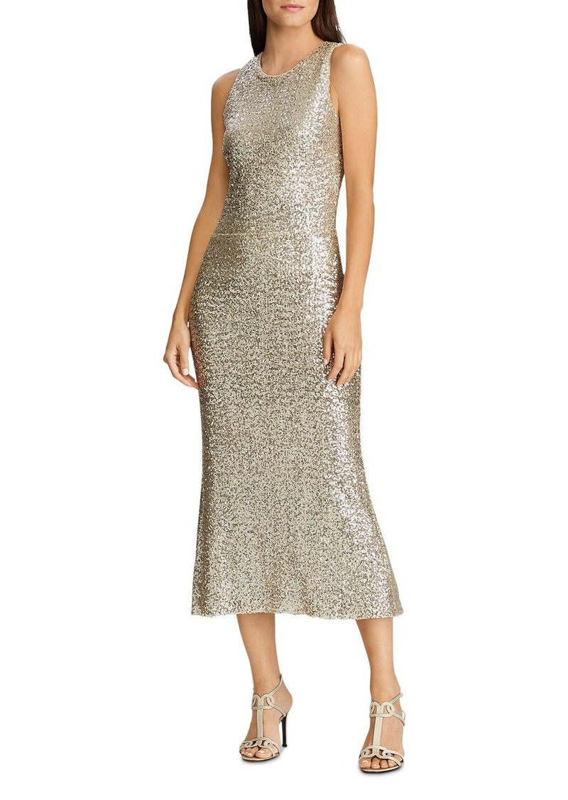 Lauren Ralph Lauren Sequined Midi Dress