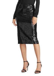 Lauren Ralph Lauren Sequined Pencil Skirt