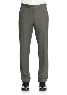 Lauren Ralph Lauren Classic-Fit Sharkskin Ultra-Flex Wool Suit Separate Pants